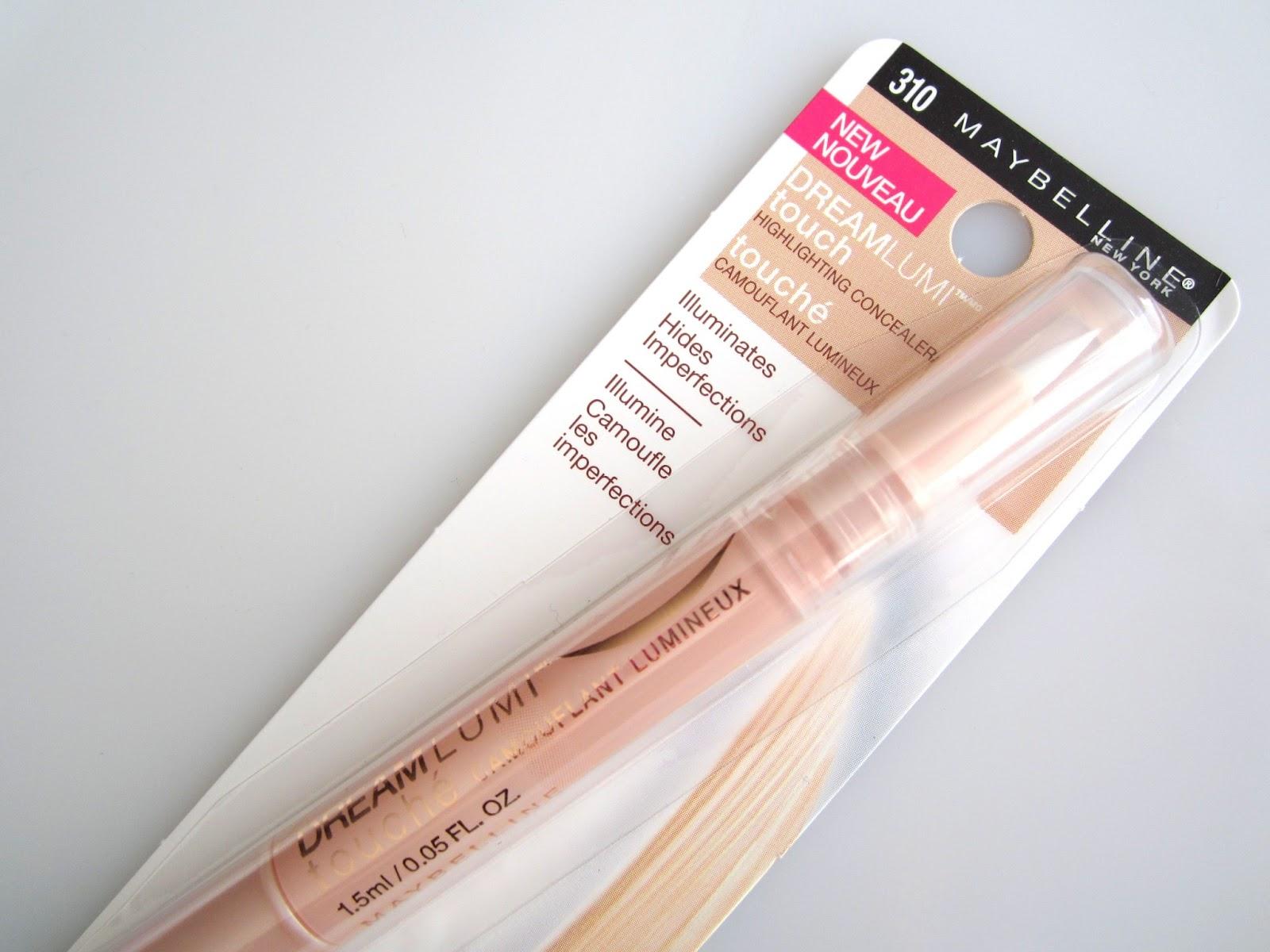 Corrector Dream Lumi™ Touch Highlighting Concealer da Maybelline. Que corrector escolher e como aplicar?