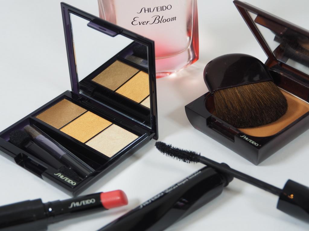Trio de sombra colorida da Shiseido – Luminizing Satin Eye Color Trio