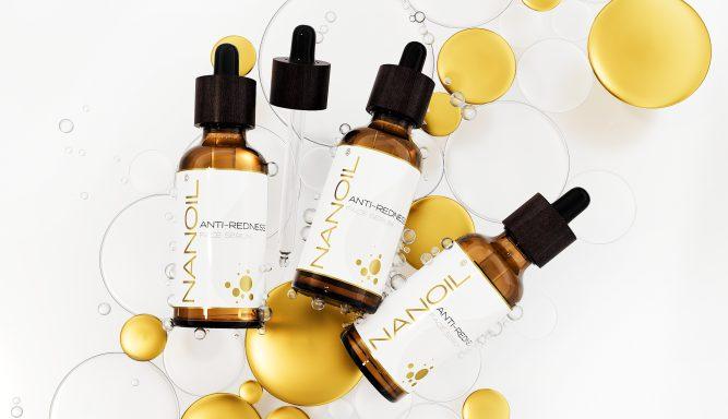melhor sérum para pele com rosácea Nanoil